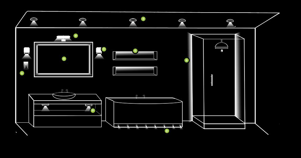 bathroom lighting guide bathroom lighting scheme