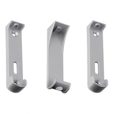 Additional w/robe rail mounting brackets with centre support