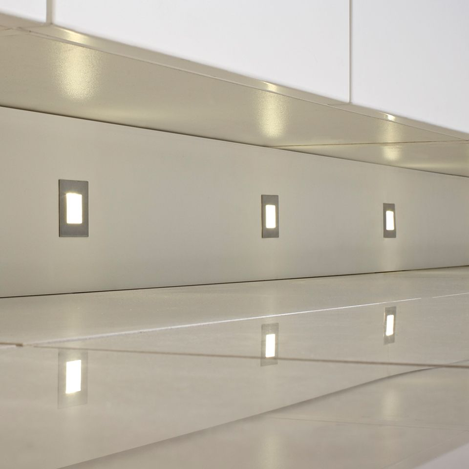 Cool Kitchen Lights: Luce LED Square Plinth Light Pack