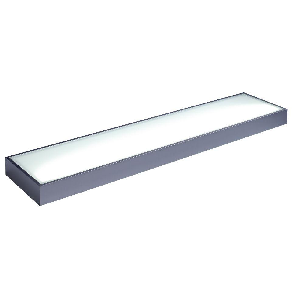 Arc Illuminated LED Glass Box Shelf