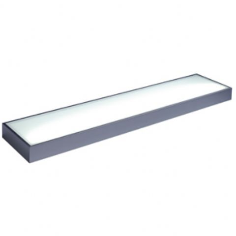 Arc LED Glass Box Shelf - 450mm