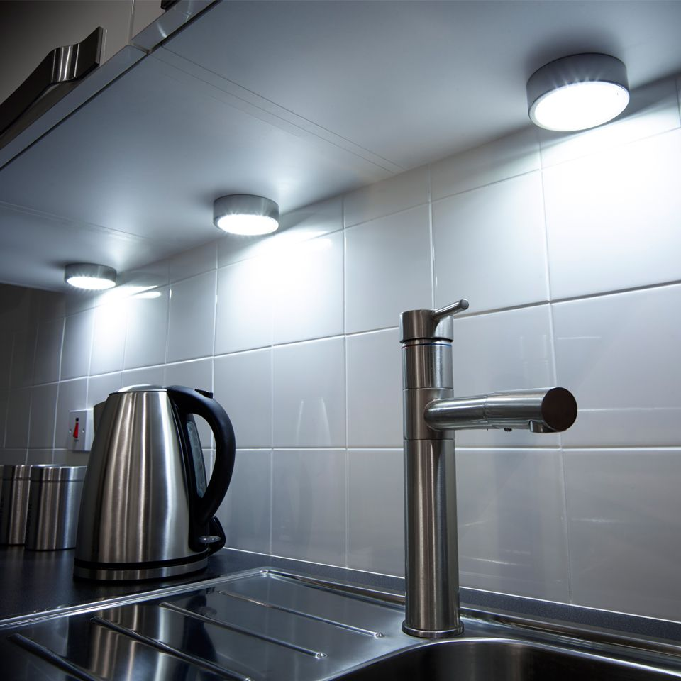 Kitchen Cabinet Led Lighting Connected To Mains