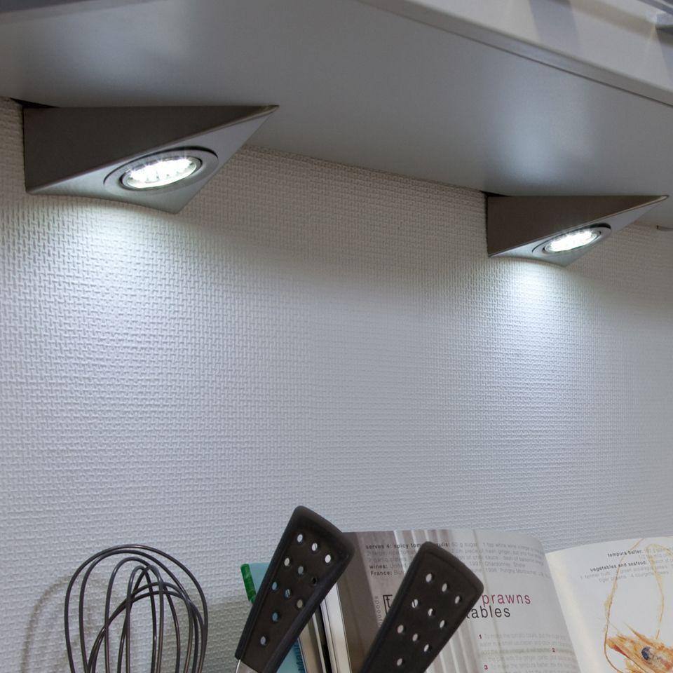 Genus LED Triangle Under Cabinet Light