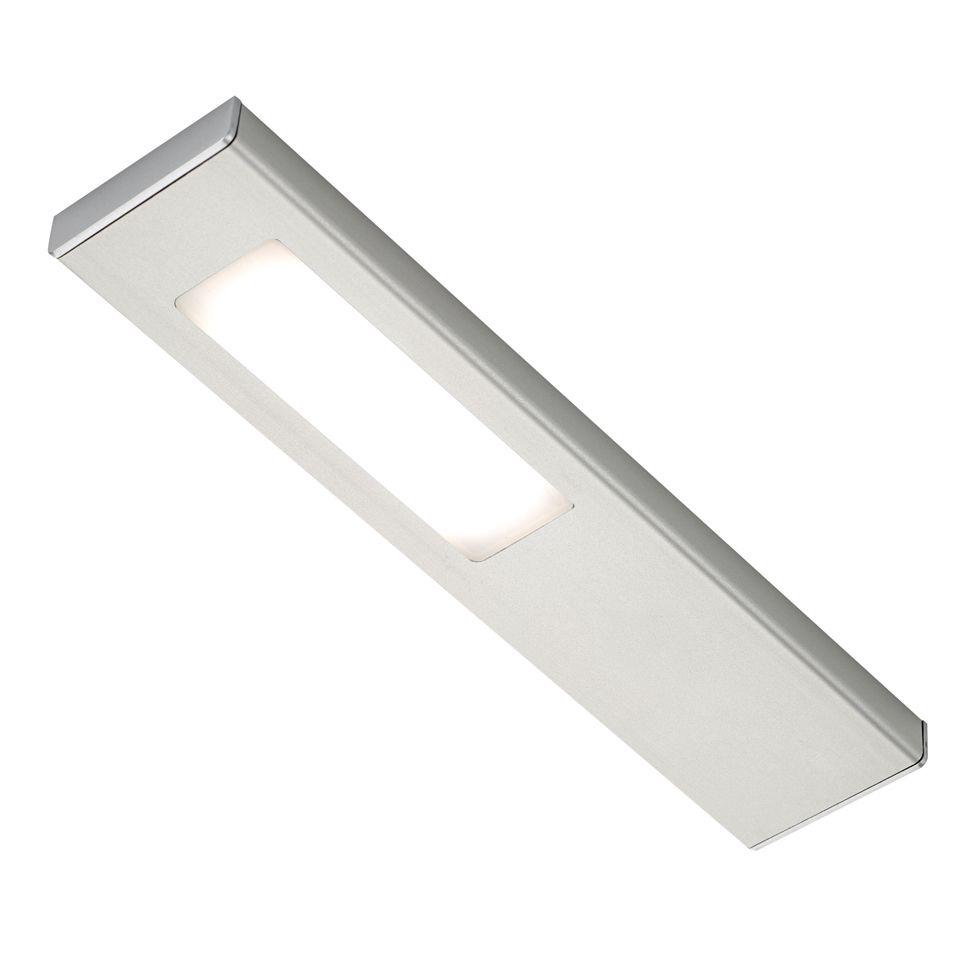 quadra modern led under over cabinet light without sensor. Black Bedroom Furniture Sets. Home Design Ideas