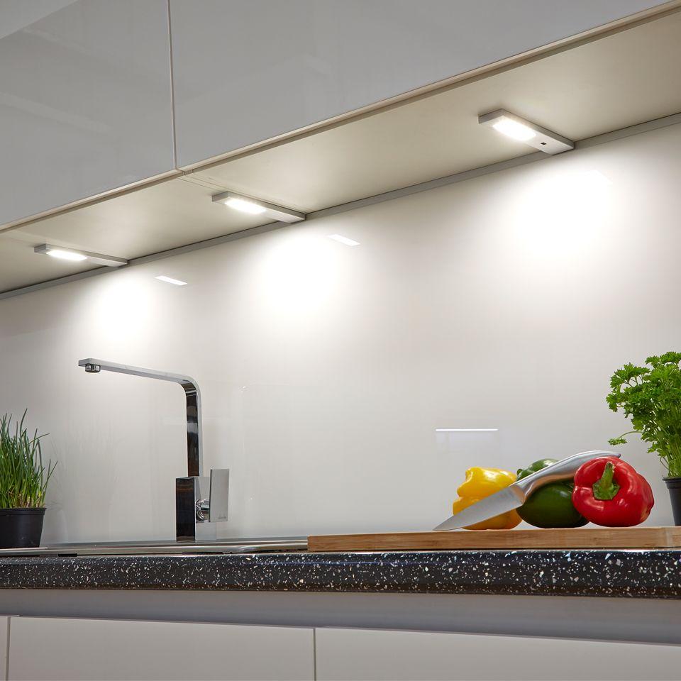 Quadra Modern LED Under/Over Cabinet Light (WITHOUT SENSOR