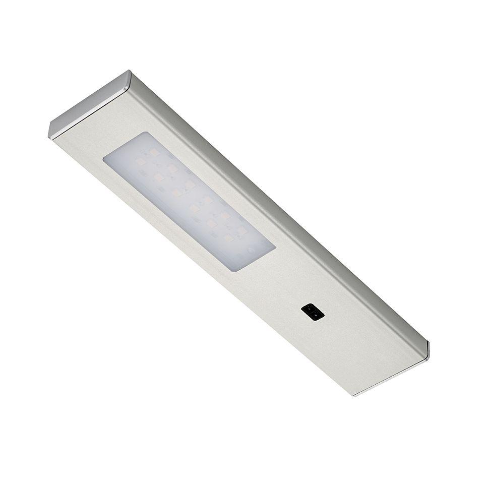 Casalife Led Cabinet Sensor Light: Quadra Modern LED Under Cabinet Light (WITH SENSOR