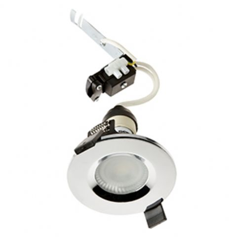 GU10 Shower Light - Chrome
