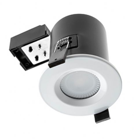 IP65 GU10 Fire Rated Ceiling Spot Light (White)