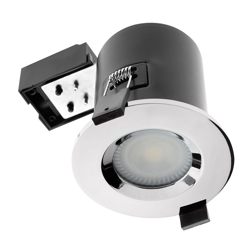 IP65 GU10 Fire Rated Ceiling Spot Light (Chrome