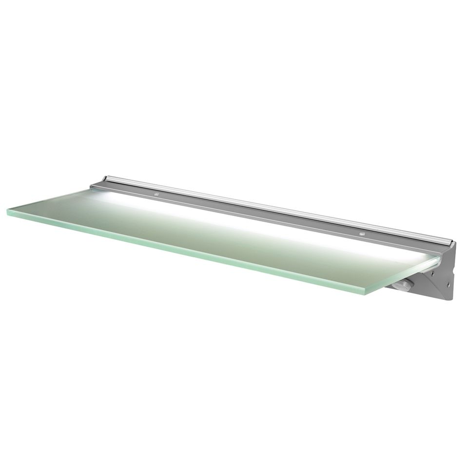 Brilliant Florence Ip44 Led Glass Shelf Light Download Free Architecture Designs Embacsunscenecom