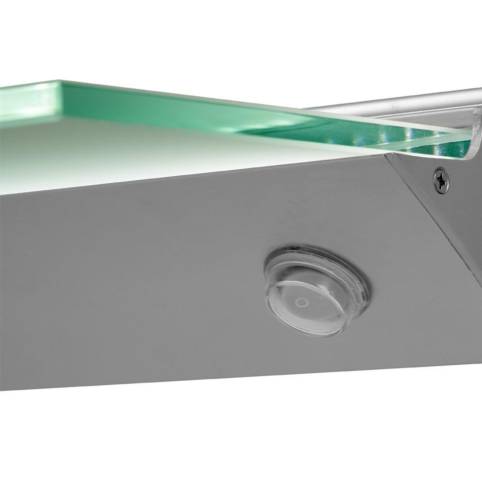 Florence Ip44 Led Glass Shelf Light