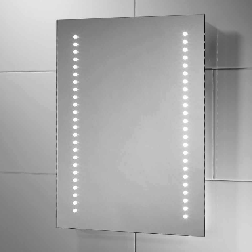 Isla Battery Powered Led Mirror W 390mm X H 500mm X D 30mm
