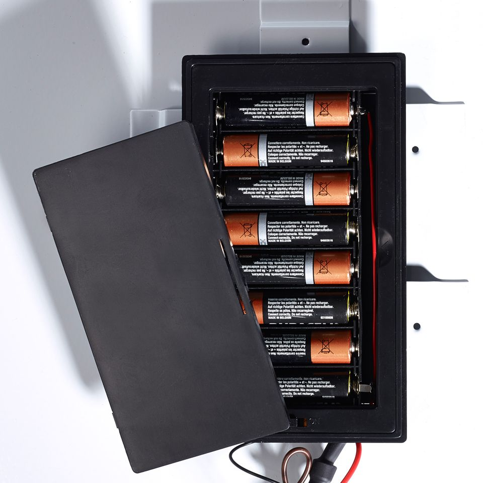 Isla Battery Powered Led Mirror W 390mm X H 500mm X D 30mm