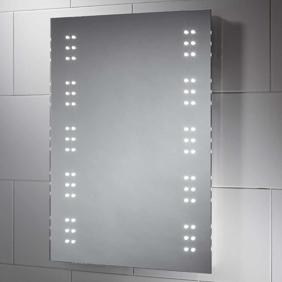 led battery operated mirror 12007