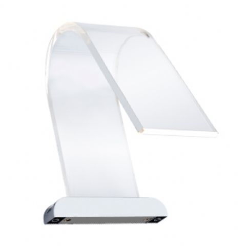 Cascade Curved Acrylic LED Over Mirror Light - CW