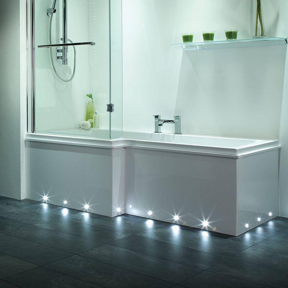 Led Bulb For Bathroom: Nimbus IP67 Round Plinth Light 6 Pack