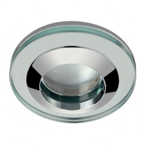 Acorn Round Glass Shower Light