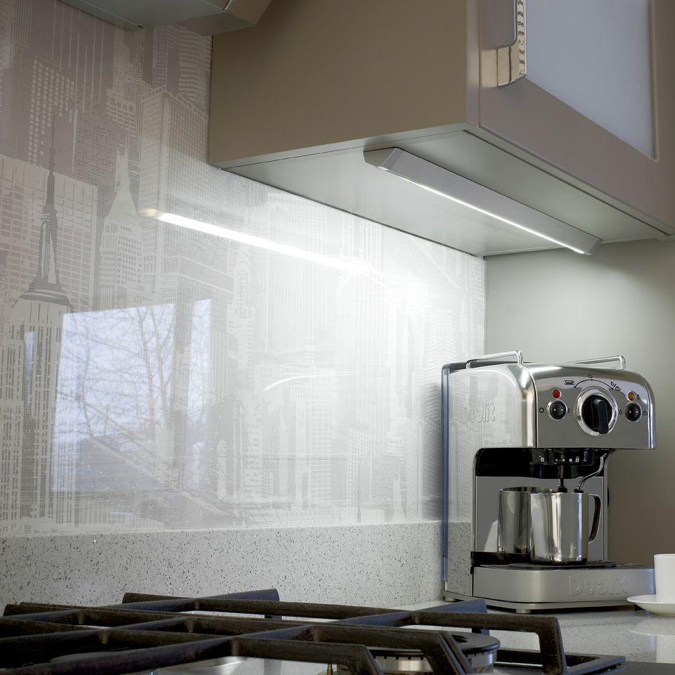 Linca Hd Led Kitchen Under Cabinet Strip Light: Triplo LED Under Cabinet Strip Light With Integrated On