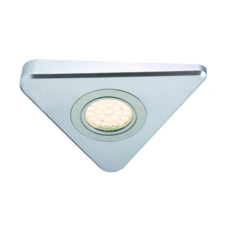 Novus HD LED Triangle Light on copper kitchen lighting, under kitchen windows, under kitchen cabinets, under kitchen storage,