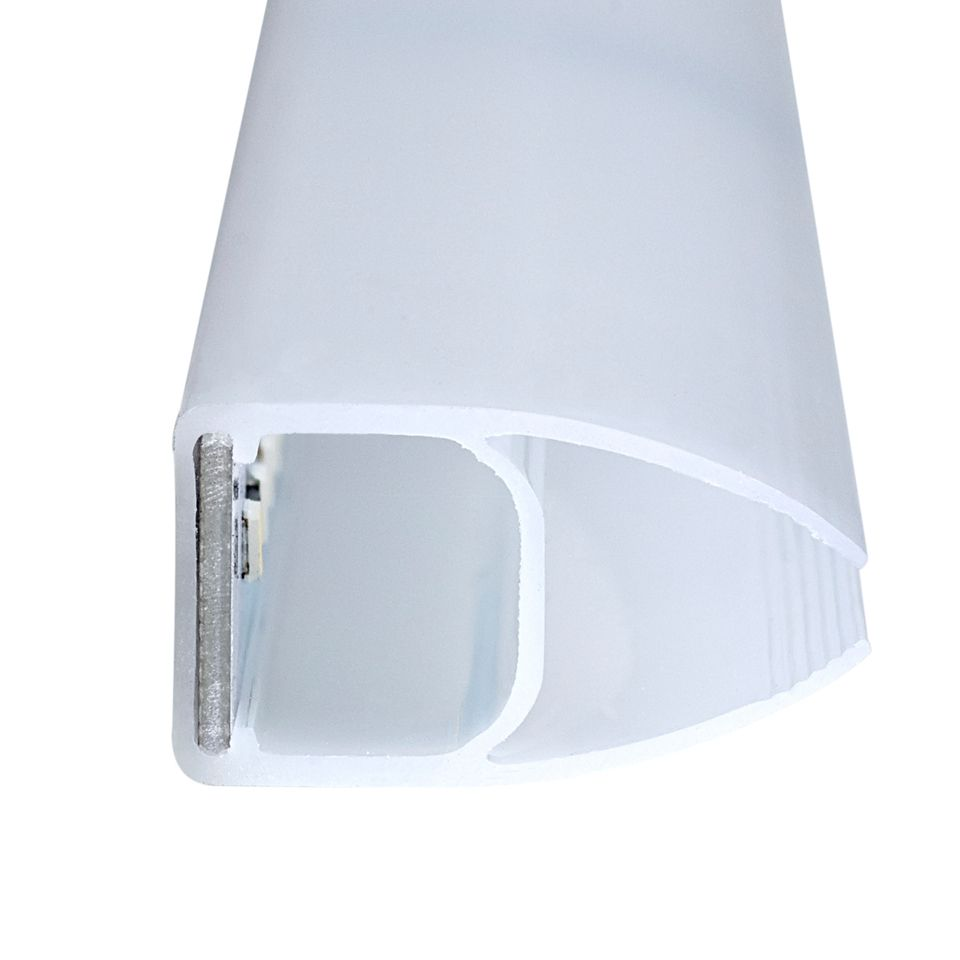 Led Glass Cabinet Shelf Light: Edge LED Glass Clip Light