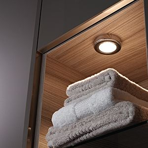 Sensio led bathroom lighting led cabinet lighting aloadofball Image collections