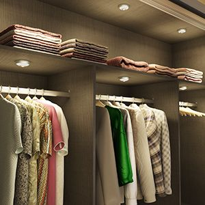 Rechargeable Wardrobe Lighting